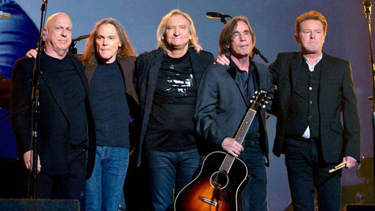eagles share first photos of their new band. Black Bedroom Furniture Sets. Home Design Ideas