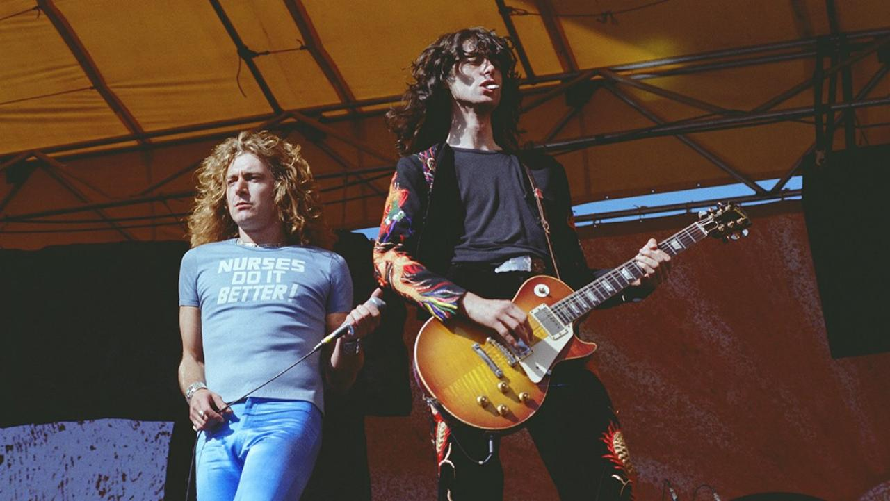 What Did Robert Plant and Jimmy Page Look Like  in 1977