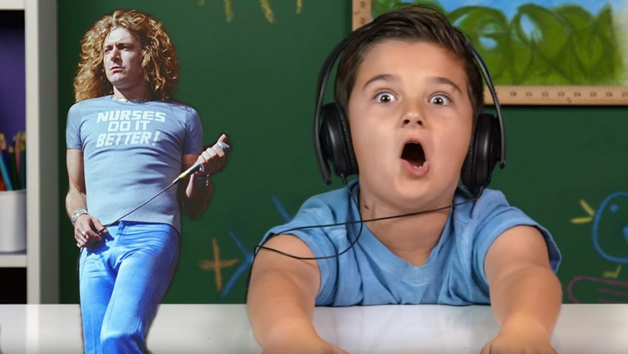 Kids React To Music : kids react to hearing led zeppelin for the first time ~ Vivirlamusica.com Haus und Dekorationen