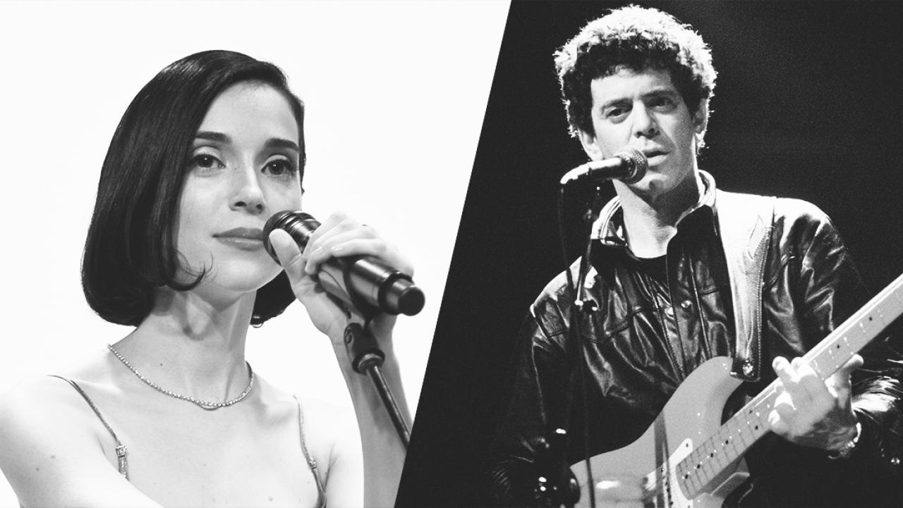 St  Vincent covers Lou Reed's