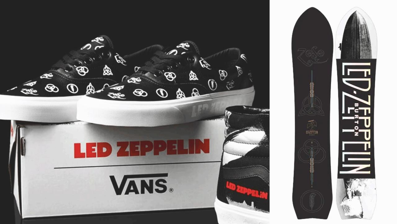 dbe1a971001 Led Zeppelin announces collaboration with Vans sneakers   Burton
