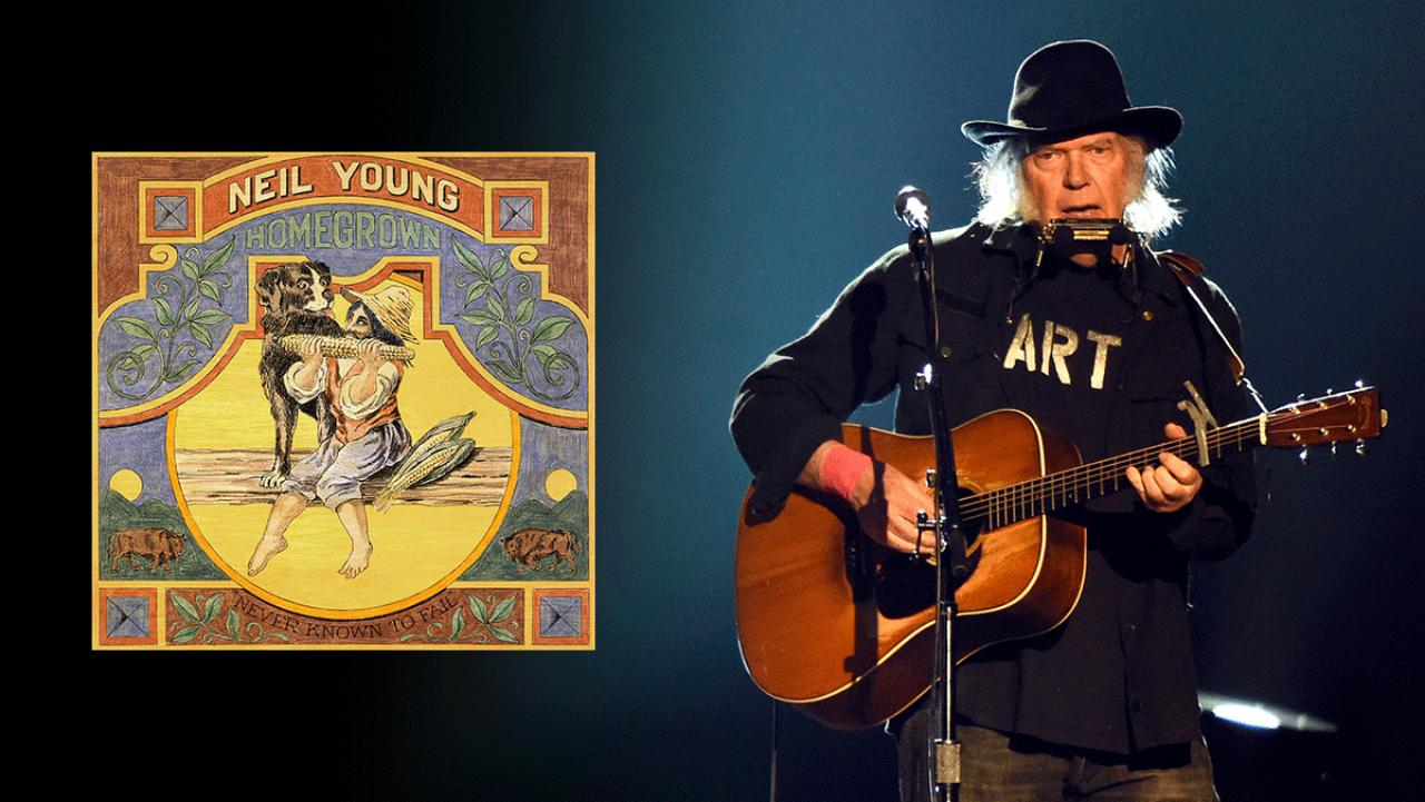 Neil Young announces release date for 'Homegrown' + four others albums